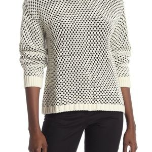 Vince Camuto Sweater Pullover Textured Stitch Sz L